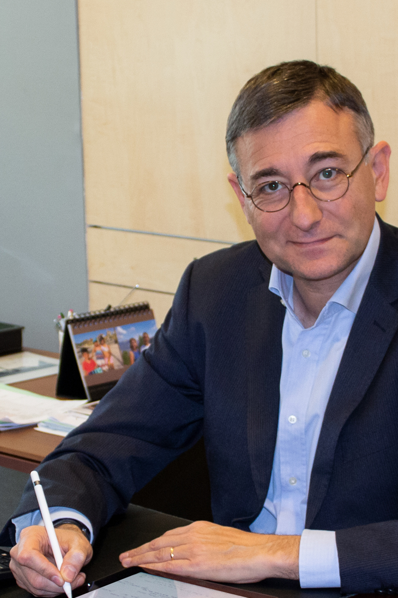 Juan Jiménez. Director de Finanzas